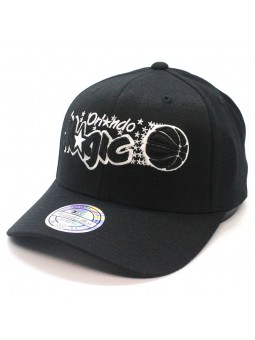 Gorra Orlando MAGIC NBA Black & White 1033 Mitchell & Ness negro