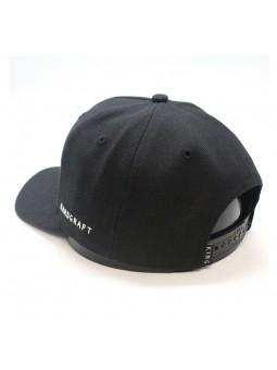 KING Hardgraf curved black Cap