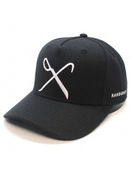 Gorra KING Hardgraft curved negro