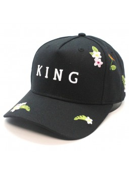 Gorra KING Stepney curved negro