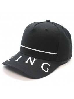 Gorra KING leyton curved negro