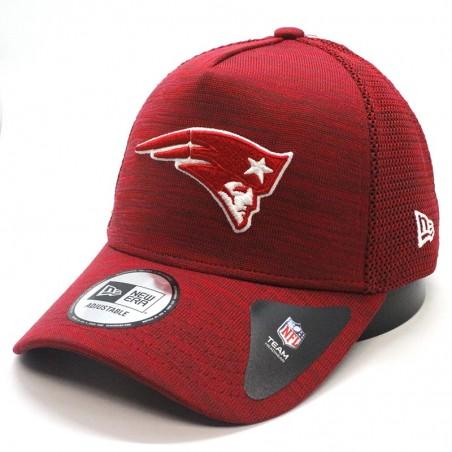 New England PATRIOTS NFL Engineered Aframe New Era red Cap