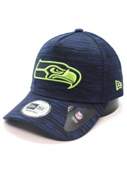 Seattle SEAHAWKS NFL Engineered Aframe New Era navy Cap