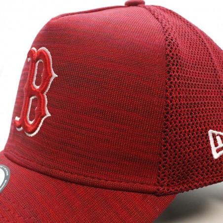 Boston RED SOX MLB Engineered Aframe New Era red Cap