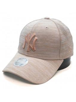 Gorra de mujer New York YANKEES MLB Engineered 9FORTY New Era salmon