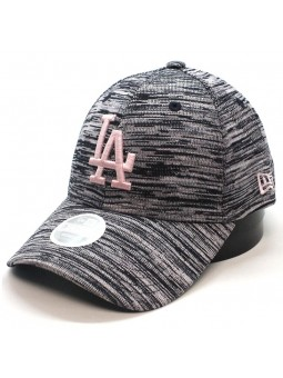 Gorra de mujer Los Angeles DODGERS MLB Engineered 9FORTY New Era negro