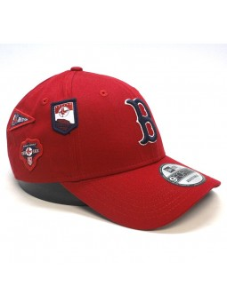 Boston RED SOX MLB Cooperstown Patched 9forty New Era Red Cap