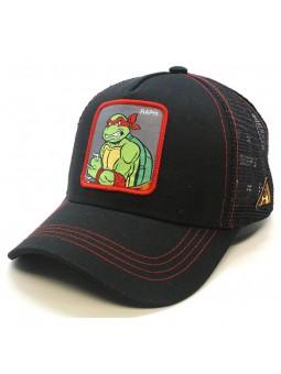 """Teenage Mutant Ninja Turtles """"RAPHAEL"""" black trucker Cap"""