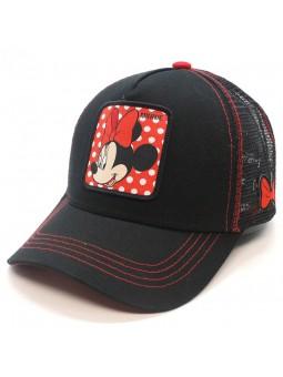 MINNIE MOUSE Disney Black Trucker Cap