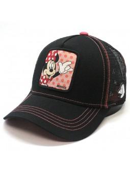 Gorra de rejilla MINNIE MOUSE Disney Negro