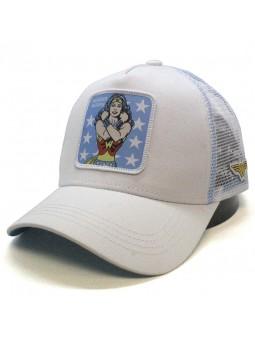 Gorra de rejilla WONDER WOMAN blanco