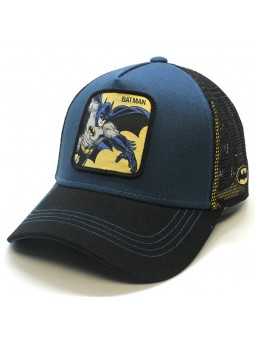 BATMAN blue/black trucker Cap