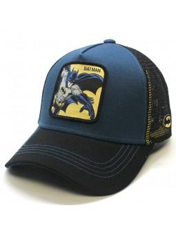 Gorra de rejilla BATMAN azul/negro
