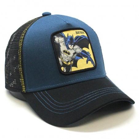 BATMAN blue/black trucker Cap