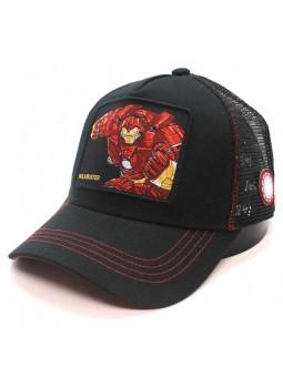"IRONMAN ""HULKBUSTER"" Avengers black trucker Cap"