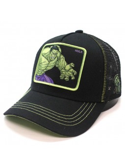 HULK Marvel Avengers Collection black trucker Cap
