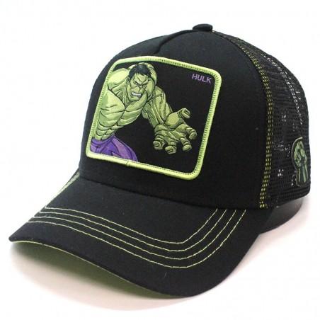 HULK Marvel Avengers Collection black trucker Cap