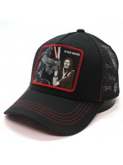 Gorra de rejilla STAR WARS de color negro