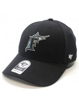 Gorra Miami Marlins MLB 47 Brand negro