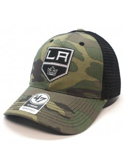 Gorra trucker L. A. Kings NHL 47 brand camuflaje verde oliva