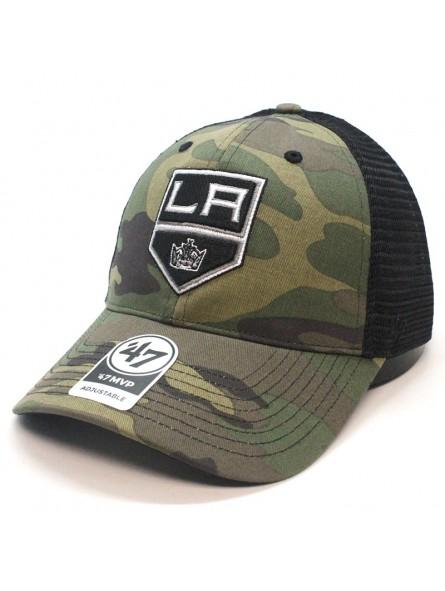 ebe9dfde L. A. Kings NHL 47 brand camouflage trucker Cap