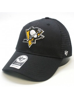 Gorra trucker Pittsburgh Penguins NHL 47 Brand negro