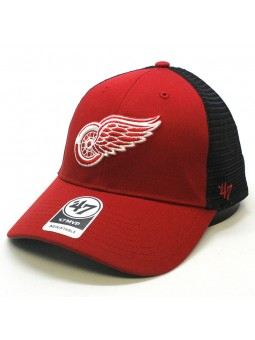 Gorra trucker Detroit Red Wings NHL 47 Brand rojo negro