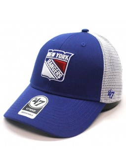 Gorra New York Rangers NHL 47 Brand trucker azul royal / blanco
