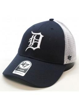 Gorra Detroit Tigers MLB 47 Brand trucker azul marino y blanco