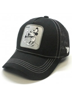 Gorra de rejilla MICKEY MOUSE Disney Negro