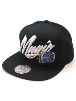 Orlando MAGIC NBA Vice Script Mitchell & Ness Cap