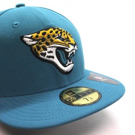 sports shoes 6f811 04b3d Jacksonville JAGUARS 59FIFTY team reverse NFL New Era green Cap