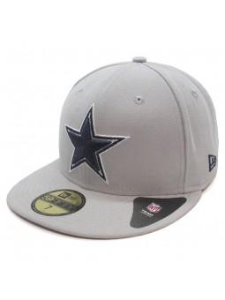 Gorra Dallas COWBOYS 59FIFTY Team reverse NFL New Era gris