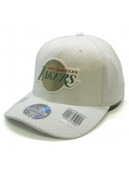 Los Angeles LAKERS NBA White 309 Mitchell & Ness Cap