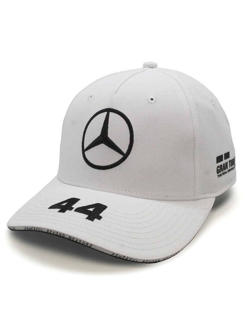 Lewis HAMILTON MERCEDES AMG Replica Team / Petronas Formula One Team white Cap