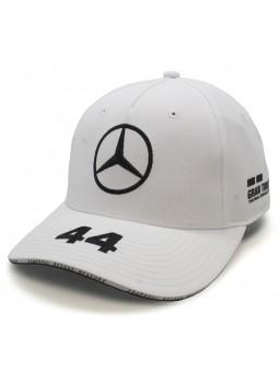 Gorra Lewis HAMILTON MERCEDES AMG Replica Team / Petronas Formula One Team blanco