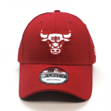 Chicago BULLS NBA Felt Infill 9FORTY New Era red Cap