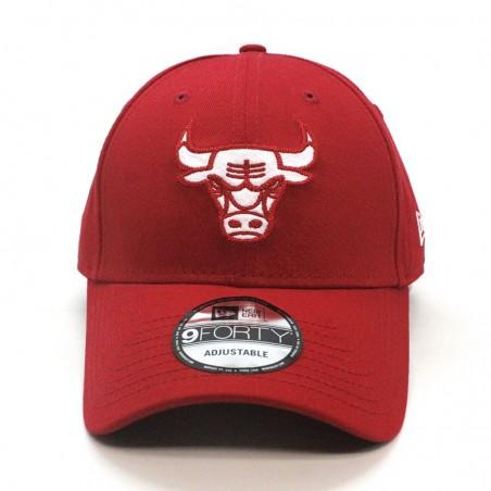Chicago BULLS NBA Felt Infill 9FORTY New Era rojo Cap