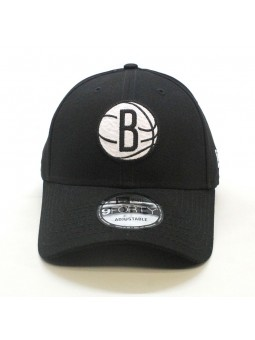 Brooklyn NETS NBA Felt Infill 9FORTY New Era black Cap