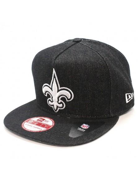 53cb7cf7 New Orleans Saints NFL Denim 9FIFTY New Era Cap