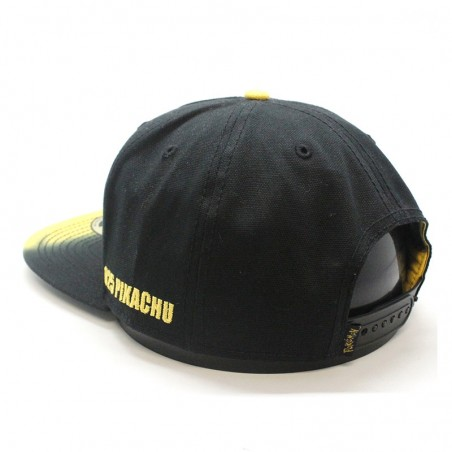 Pikachu POKEMON rubber black Cap