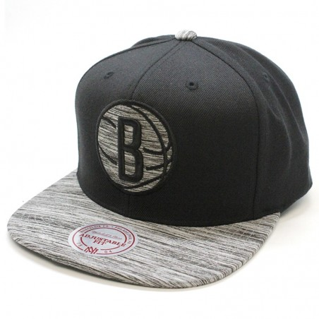 Brooklyn Nets NBA Motion Mitchell & Ness Cap