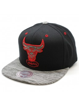 Chicago Bulls NBA Motion Mitchell & Ness Cap