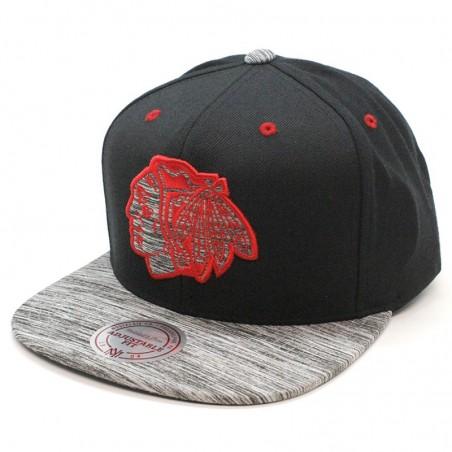Chicago Blackhawks NHL Motion Mitchell & Ness Cap