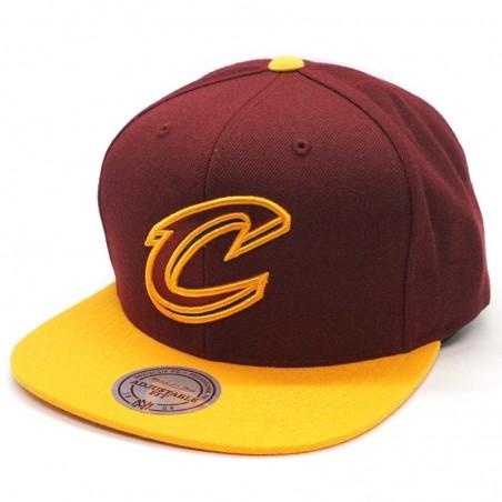 Cleveland Cavaliers BH78FL NBA Mitchell & Ness black Cap