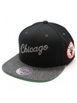 Gorra Chicago Bulls Intl245 Mitchell & Ness negro snapback