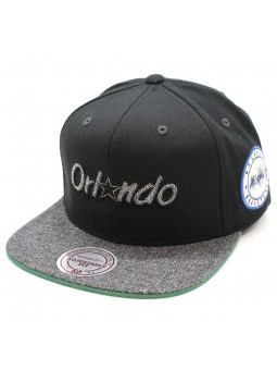 Gorra Orlando Magic Intl245 Mitchell & Ness negro snapback