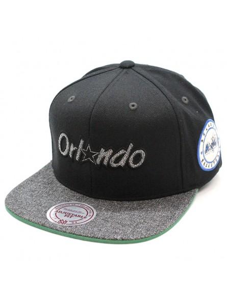 Gorra Orlando Magic Intl245 Mitchell & Ness negro snapback