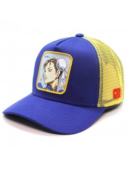 CHUNLI Street Fighter Royal/Yellow Trucker Cap