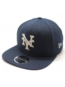 Gorra New York Mets MLB Linen Felt 9fifty New Era azul